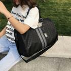 Nylon Printed Carryall Bag