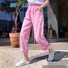Neon Wide-leg Pants