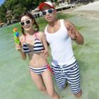 Couple Bikini Set / Beach Shorts