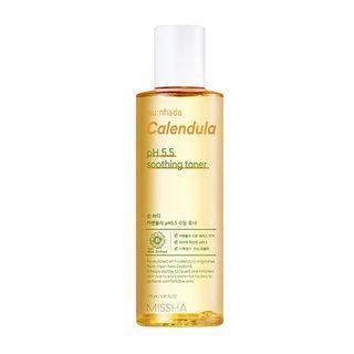 Missha - Su:nhada Calendula Ph 5.5 Soothing Toner 175ml