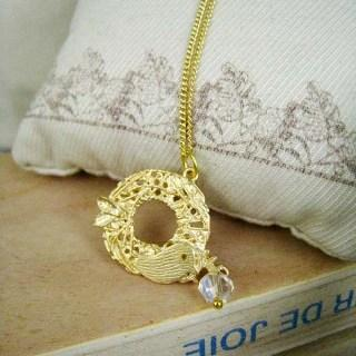 Gold Bird Heaven Necklace Gold - One Size