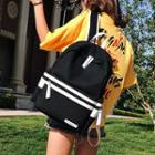 Contrast Striped Backpack