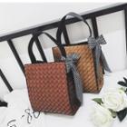 Ribbon Detail Shoulder Bag