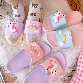 Unicorn Silicone Slippers