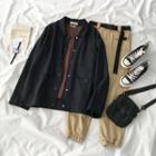 Long-sleeve T-shirt / Cargo Jacket / Harem Pants
