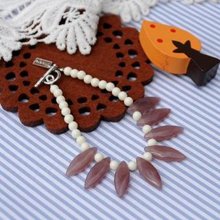 Glass Beads Bracelet(purple)