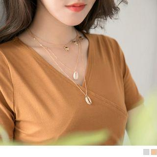 Layered Seashell Necklace