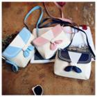 Color Panel Crossbody Bag