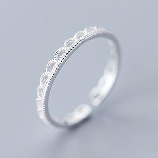 925 Sterling Silver Open Ring Ring - Open - One Size