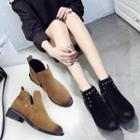 Grommet Ankle Boots