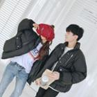 Couple Matching Pocketed Padded Coat