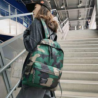 Couple Matching Camouflage Lightweight Backpack