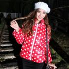 Dotted Padded Coat