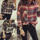 Boxy Plaid Shirt