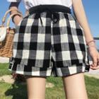 Check Shorts / Harem Pants