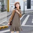 Bow Dress / Vest Knit Dress