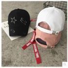 Safety Pin Detail Baseball Cap