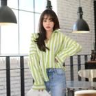 Stripe Boxy-fit Shirt