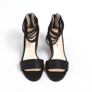 Ankle-strap Wedge Sandals