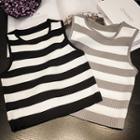 Stripe Knit Tank Top