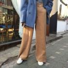 Corduroy Wide Leg Pants As Shown In Figure - One Size