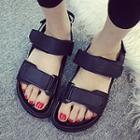Velcro Strap Platform Sandals