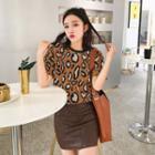 Leopard Short Sleeve T-shirt