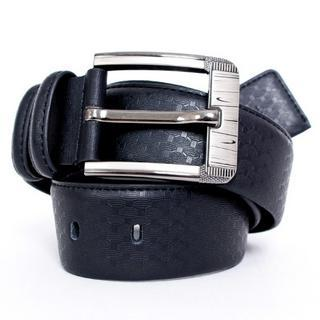 Genuine Leather Belt Black - One Size