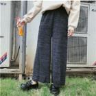 Knit Straight-leg Pants