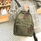 Striped Slider Oxford Backpack