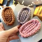 Knit Fabric Hair Clip