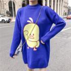 Duck Print Sweater
