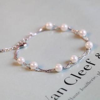 Beaded Double-strand Bracelet / Anklet