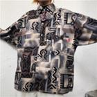 Print Shirt / Short-sleeve Shirt