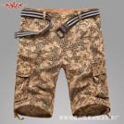 Printed Cargo Shorts