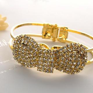 Bowknot Bracelet  Gold - One Size