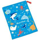 Ocean Friends Drawstring Pouch One Size