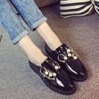 Embellished Patent Loafers