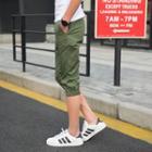 Plain Capri Jogger Pants