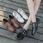 Studded Belted Loafers