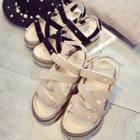 Platform Roman Sandals