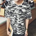 Camo Short Sleeve T-shirt