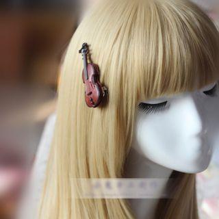 Violin Hair Tie / Hair Clip