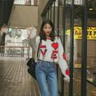 Love Letter Fringed Sweater