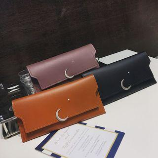 Moon Accent Long Wallet