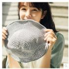 Plain Perforated Bucket Hat