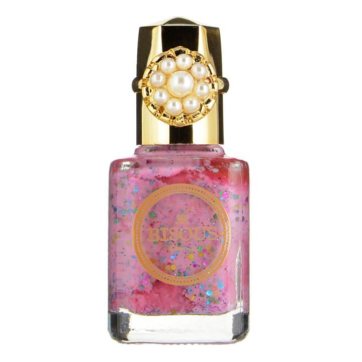 Bisous Bisous - Love Blossom Petit Secret Nail Polish (#021 Pink Glitter) 12ml