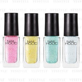 Kose - Nail Holic Aurora Glitter Color - 6 Types