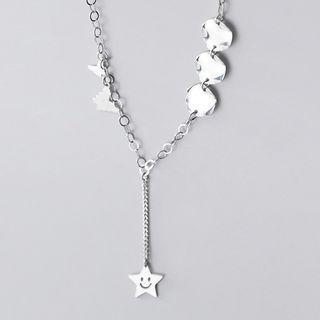 Star Necklace S925 Silver - As Shown In Figure - One Size