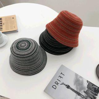 Stripe Knit Hat